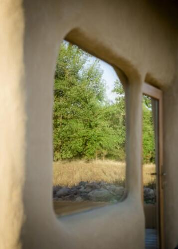 Okno - odbicie zewnętrza